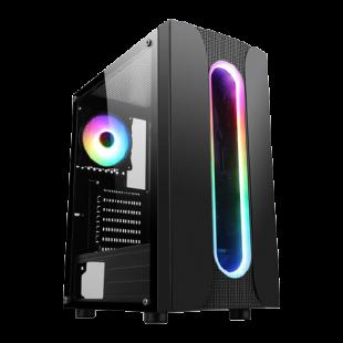 Powered By ASUS High End Gaming PC/ 3XS Gamer RX/ AMD Ryzen 7 5800X/ AMD Radeon RX 6700 XT/ 16GB RAM/ 1TB SSD+2TB HDD/ Windows 10 Home