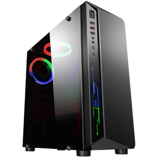 CK - Intel Core i3-10100F/8GB RAM/1TB HDD/120GB SSD/GTX 1650 4GB/Gaming Pc
