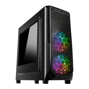 CK - Intel Core i3-9350K/8GB RAM/1TB HDD/240GB SSD/AMD Radeon RX 590 8GB/ Gaming Pc