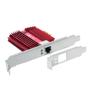 Brand New TP-LINK (TX401) 10GBase-T PCI Express Network Adapter/ Backwards Compatible/ CAT6A Cable/ Low-Profile & Full-Height Brackets