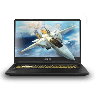"Refurbished Asus FX705G/i7-8750H/16GB RAM/128GB SSD+1TB HDD/GTX 1060/17""/Windows 10/B"