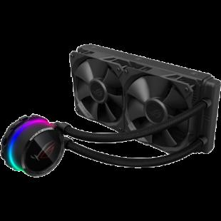 Asus ROG STRIX LC240 RGB 240mm Liquid CPU Cooler, Addressable RGB, 2 x PWM Fan