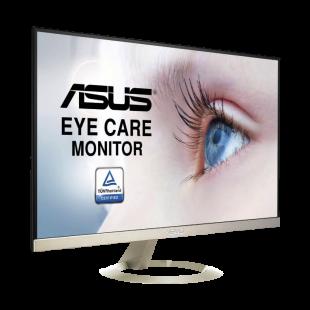"Asus 27"" WQHD Ultra-Slim Gaming Monitor (VZ27AQ), IPS, 2560 x 1440, 5ms, HDMI, DP, VGA, Frameless, Speakers"