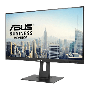 "Asus 27"" WQHD Business Monitor (BE27AQLB), IPS, 2560 x 1440, 5ms, HDMI, DP, Mini DP, VGA, Speakers, Frameless, VESA, Mini-PC Mount Kit Included"