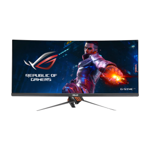 "Asus 34"" Ultra-Wide ROG Swift IPS LED Monitor (PG349Q), 3440 x 1440, 4ms, HDMI, DisplayPort, VESA"