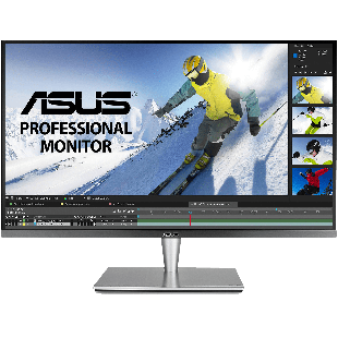 "Asus 32"" ProArt HDR Professional 4K UHD Monitor (PA32UC-K), IPS, 3840 x 2160, 5ms, HDMI, DP, USB-C,Speakers, X-rite i1 Display, VESA"