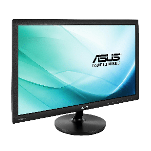 "Asus 23.6"" LED Monitor (VS247HR), 1920 x 1080, 2ms, VGA, HDMI, DVI, VESA"