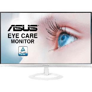"Asus 27"" Frameless Eye Care IPS Monitor (VZ279HE-W), 1920 x 1080, 5ms, Ultra-slim, VGA, HDMI, White"