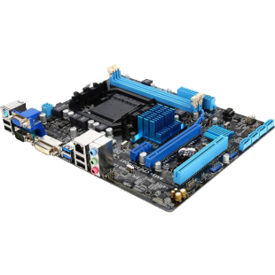 Asus M5A78L-M LE/USB3, AMD 760G, AM3+, Micro ATX, 2 DDR3, RAID, USB3, up to 125W CPU Support