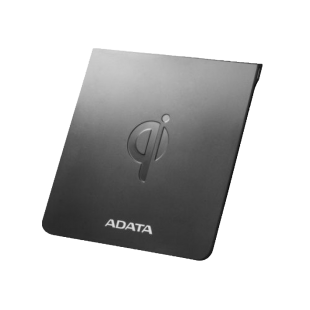 ADATA CW0050 Wireless Qi-Certified Charging Pad, 5W, Ultra-Thin, Micro USB, Black