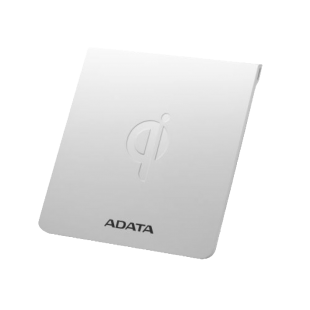 ADATA CW0050 Wireless Qi-Certified Charging Pad, 5W, Ultra-Thin, Micro USB, White