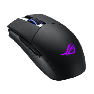 Brand New Asus ROG Strix Impact II Wireless Gaming Mouse/Wired/Wireless/16000 DPI/DPI Button/89 Hours Battery Life/RGB LED