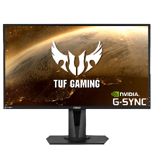"Asus 27"" TUF WQHD HDR Gaming Monitor (VG27AQ), IPS, 2560 x 1440, 1ms, 2 HDMI, DisplayPort, 165Hz, Speakers, VESA"