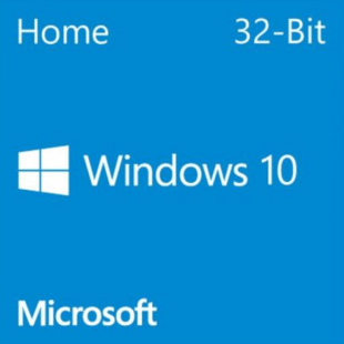 Microsoft Windows 10 Home 32-bit, OEM DVD, Single Copy