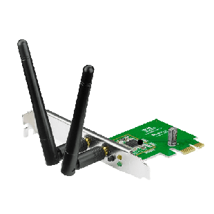 Asus (PCE-N15) 300Mbps Wireless N PCI Express Adapter, AP Mode, WPS