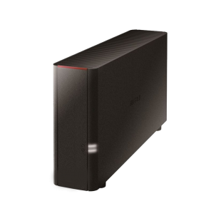 Buffalo 3TB LinkStation 210 NAS Drive, (1 x 3TB), GB LAN, NovaBACKUP, Built-in BitTorrent
