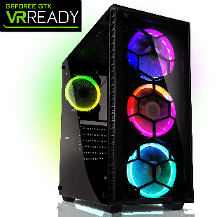 CK - Intel i7-9th Gen/16GB RAM/2TB HDD/480GB SSD/RTX 2060 6GB/Gaming Pc