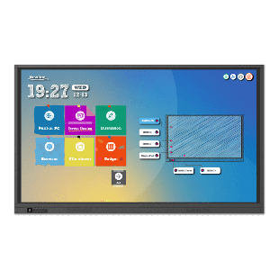 Brand New +NEW+Newline RS86 86-inch Widescreen LED Black Multimedia Interactive Display (3840x2160/8ms/HDMI/DP/Android 8/Touchscreen/4K)