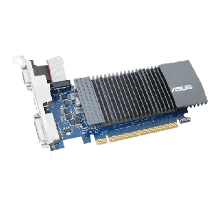 Asus GT710/ 1GB DDR5/ PCIe2/ VGA, DVI/ HDMI/ Silent/ Low Profile (Bracket Included)