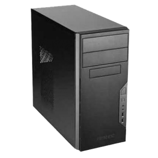 Spire Tower PC, Antec VSK3000B, i5-8400, 8GB, 480GB SSD, Corsair 450W, DVDRW, KB & Mouse, Windows 10 Pro