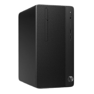 HP 285 G3 Micro Tower PC, Ryzen 5 2400G, 4GB, 1TB, DVDRW, Radeon RX Vega 11, Windows 10 Pro