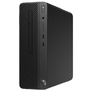 HP 290 G1 SFF PC, i3-8100, 4GB, 128GB SSD, DVDRW, Windows 10 Pro, 1 Year on-site
