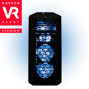 CK - AMD Ryzen 5, RX 580 Quad Core Gaming PC