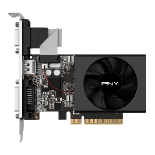 PNY GeFoce GT710 Graphics Card, 2GB DDR3,PCI Express 2.0, Low Profile