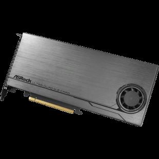 Asrock Ultra Quad M.2 Card, 4x M.2 NVMe, PCIe Gen3 x16 (x4), 32Gb/s, Intel VROC