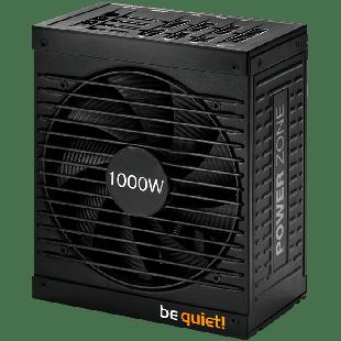 Be Quiet! 1000W Power Zone PSU, Fully Modular, Fluid Dynamic Fan, 80+ Bronze, SLI/XFire, Cont. Power
