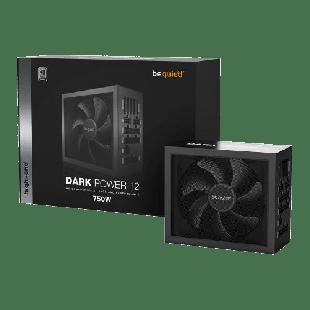 Brand New Be Quite! 750W Dark Power 12 PSU/Fully Modular/FDM Frameless Fan/80+ Titanium/Quad Rail/Full-Mesh PSU Front/OC Key