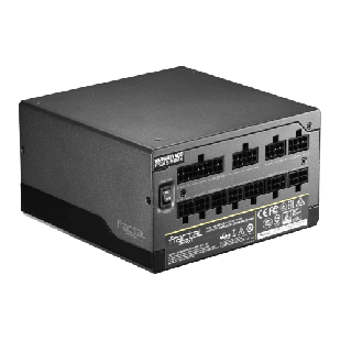 Brand New Fractal Design 760W ION+ 760P PSU/Fully Modular, Fluid Dynamic Fan/80+ Platinum, UltraFlex DC Wires, Whisper-quiet Mode
