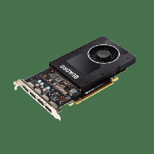 PNY Quadro P2200 Professional Graphics Card, 5GB DDR5X,PCIe, 3.0