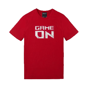 Asus ROG Game On T-Shirt, Large - RED