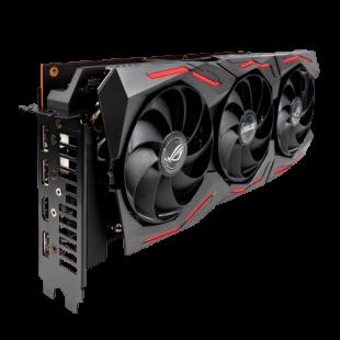 Asus ROG STRIX RX5700 XT OC, 8GB DDR6, PCIe4, HDMI, 3 DP, 2035MHz Clock, 0dB Tech, RGB Lighting, Overclocked