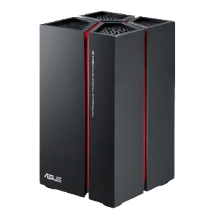 Asus (RP-AC68U) AC1900 (600+1300) Dual Band GB Range Extender/Access Point/Media Bridge, 5-Port