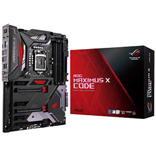 Asus ROG MAXIMUS X CODE, Intel Z370, 1151, ATX, DDR4, XFire/SLI, HDMI, DP, Wi-Fi, RGB Lighting