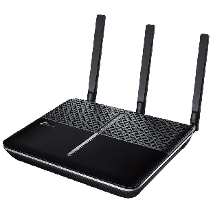 TP-Link (Archer VR600) AC1600 (1300+300) Wireless Dual Band GB VDSL2 Modem Router, USB3, Fibre, Cable & 3G/4G Support - Black