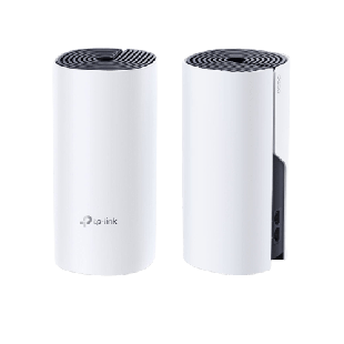 Brand New TP-LINK (DECO P9) Whole-Home Hybrid Mesh Wi-Fi System with Powerline/ 2 Pack/ Dual Band AC1200 + HomePlug AV1000