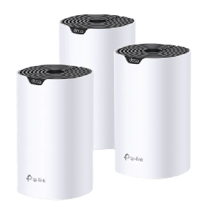 Brand New TP-LINK (DECO S4) Whole-Home Mesh Wi-Fi System/ 3 Pack/ Dual Band AC1200/ MU-MIMO/ 2 x LAN on each Unit