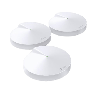 Brand New TP-LINK (DECO M9 PLUS) Smart Home Mesh Wi-Fi System/ 3 Pack/ Tri Band AC2200/ MU-MIMO/ Built-in Smart Hub