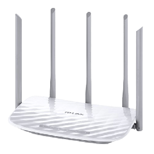 Brand New TP-LINK (Archer C60) AC1350 Wireless Dual Band 10/100 Cable Router/ 5 Antennas