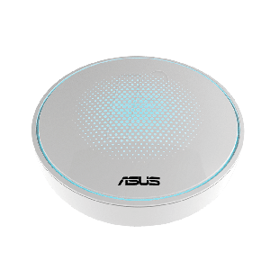 Asus LYRA Whole-Home Mesh Wi-Fi System, Single Unit, Tri-Band AC2200, Parental Controls, App Management - White