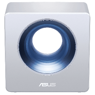Asus (BLUECAVE) AC2600 (800+1734) Wireless Dual Band GB Cable Router for Smart Home, AiProtection, IFTTT - Silver