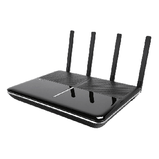 TP-Link (Archer VR2800) AC2800 (2167+600) Wireless Dual Band GB VDSL2 Modem Router, USB3, MU-MIMO - Black