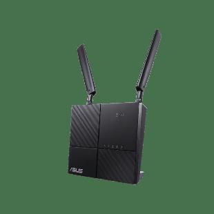 Asus (4G-AC53U) AC750 Wireless Dual Band 4G LTE Router, GB, USB, SIM Card Slot, Parental Controls, Guest Network - Black