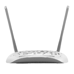 TP-Link (TD-W9960) 300Mbps Wireless VDSL2/ADSL2+ Modem Router, 4-Port, 10/100