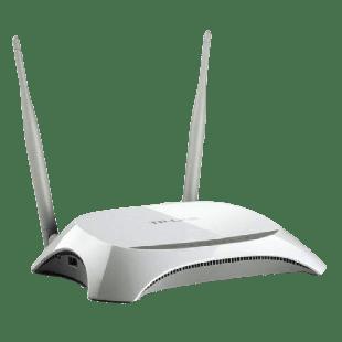 TP-Link (TL-MR3420) 300Mbps Wireless N 4G Router, 4-Port, 1 USB
