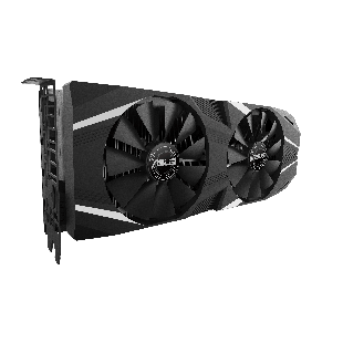 Asus RTX2070 DUAL, 8GB DDR6, HDMI, 3 DP, USB-C, 1650MHz Clock