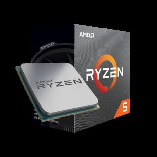 AMD Ryzen 5 3400G CPU with Wraith Spire Cooler, AM4, 3.7GHz (4.2 Turbo), Quad Core, 65W, 12nm, 3rd Gen, VEGA 11 Graphics